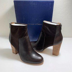 Adrienne Vittadini Ratti Stacked Block Heel Boots